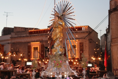 Naxxar's statue of Maria Bambina